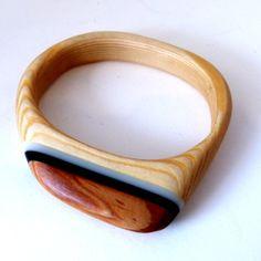 Wooden Bangle : Aiden Spencer