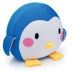 Almofada super fofa em formato de pinguim. R$49.90