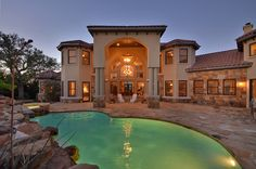 Dream pool and patio