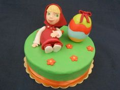 Masha e l'Uovo - http://tortedecorate.eu/masha-e-luovo/