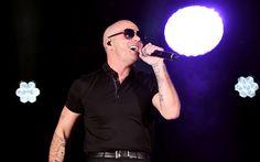 Download wallpapers Pitbull, Armando Christian Perez, American rapper, portrait, concert, rap