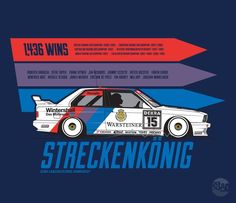 Your Favorite Race Cars Artfully Defined Petrolicious Car Vector, Vector Art, Car Logo Design, Slammed Cars, Bmw E30 M3, Bmw Classic, Tuner Cars, Vintage Race Car, Car Logos