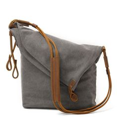 9f04d9af6005 Women Canvas And Leather Crossbody Bag