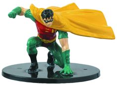 DC Comics Universe Batman John Blake Robin Cake Topper Model Figure Set 2