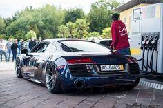 Stanced Audi R8 | #Bagged #AirRide #AudiR8