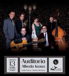 El grupo canario N-CANDELA actuará en El Rincón del Jazz el próximo 13 de abril (sábado) a las 21,00 horas, en el Auditorio Alfredo Kraus de Las Palmas.