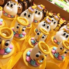 DOCES FESTA A BELA E A FERA BEAUTY AND THE BEAST BIRTHDAY PARTY IDEAS.08