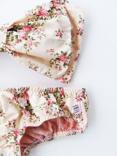 Vintage Bow Bandeau Bikini Swimsuit Cotton Cute Sexy Bikini