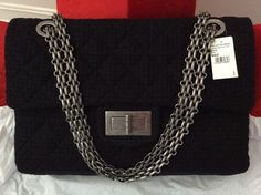 Chanel Tweed Xxl Reissue Flap Limited Edition Brand New Shoulder Bag $2,795