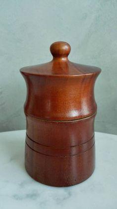 Danish, Teak, Container, Mid Century, Vase, Home Decor, Hand Made Gifts, Tent, Handmade