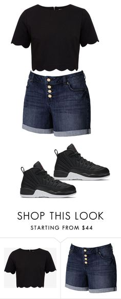 """""""Beauty """" by quadivaedwards on Polyvore featuring Ted Baker, Jennifer Lopez and NIKE"""
