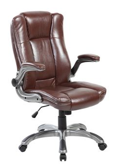 United Mid Back Modern Computer PU Leather Office Executive Chair