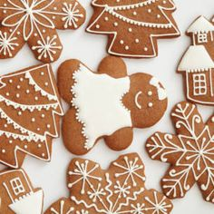 Gingerbread Cookies, Christmas Cookies, Gingerbread Houses, Pepparkakor Recipe, Christmas And New Year, Christmas Time, Cupcakes, Cookie Decorating, Sugar Cookies