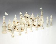 Chess Set, c.1795 (ivory)
