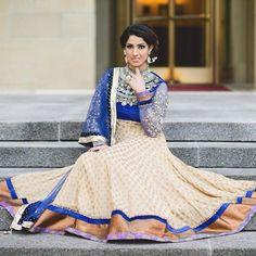 Biege & Blue #salwaar kameez #chudidar #chudidar kameez #anarkali #anarkali suits #dress #indian #hp #outfit  #shaadi #bridal #fashion #style #desi #designer #wedding #gorgeous #beautiful
