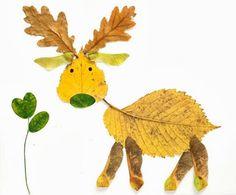 Fall leaf craft ideas.