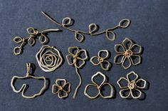 Free Wire Jewelry Tutorials   Some simple wire sculpted pendants/center pieces for new necklace ...