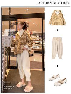 Korean Girl Fashion, Korean Fashion Casual, Korean Fashion Trends, Korean Street Fashion, Ulzzang Fashion, Look Fashion, Korean Outfit Street Styles, Korean Casual Outfits, Outfits For Teens