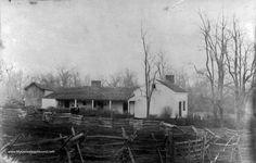 Kearney, Missouri, Home of Jesse and Frank James, historic photo