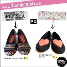 ¿Estilo rocker o romántico? ¿Cuál preferís? #love www.tiendadcm.com
