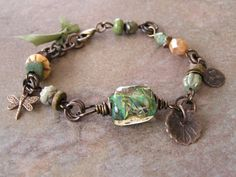 Waiting for Spring Bracelet by swallowtailjewellery on Etsy, $32.50