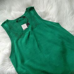 """Proenza Schouler Sleeveless Top Absolutely beautiful shade of green! Super lightweight and perfect for summer. Cotton nylon blend. From shoulder to hem measures about 24"""". Proenza Schouler Tops"""