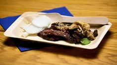 Ponzu Beef with Mushrooms Two Ways