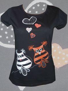 133c1333e7c5 SOVÍ POHODA - tričko dámské – Potvor - pomáhat tvořit