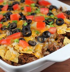 Recipe For Mexican Casserole - This Mexican casserole combines your favorite ingredients into a great dish!