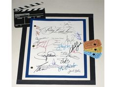 """Pretty Little Liars """"That Jenna Thing"""" Episode TV Script Autographed: Shay Mitchell, Holly Marie Combs, Troian Bellisario & More"""