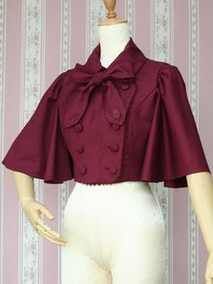 Classic Lolita Jacket/Cape || Victorian Maiden