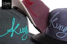 DOWN.WITH.THE.KING                                    King Apparel  __________________________  http://www.crayhats.com/marken/king-apparel-ltd