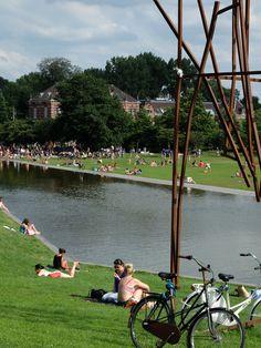 Détente au Westerpark (Amsterdam / Pays-Bas)