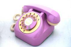 Lavender vintage phone!