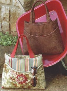 Indygo Junction Tote Patterns | Purse & Accessory Patterns Sewing Patterns Sewing Sewing & Fabric ...