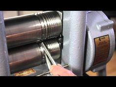 Preview of Using a Rolling Mill to Create Various Wire Shapes and Sheet Forms Tutorial - YouTube