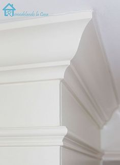 How to cut crown molding - hoping I'll actually get around to doing this in our house some day!