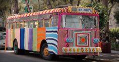 How yarn bombing grew into a worldwide movement