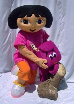 Dora mascot free shipping
