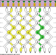# 99033 – Freundschaftsband … - New Sites String Bracelet Designs, String Bracelet Patterns, Diy Bracelets With String, Crochet Bracelet Pattern, Diy Bracelets Easy, Bracelet Crafts, Peyote Bracelet, Diamond Friendship Bracelet, Diy Friendship Bracelets Patterns