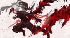 2d Art, Tokyo Ghoul, Deadpool, Illustration Art, Kaneki, Superhero, Artwork, Anime, Fictional Characters