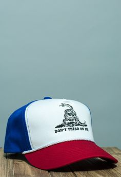ff487fb7674 Don t Tread on Me Battle Flag Rope Hat in Red