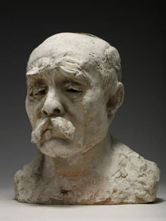 Auguste Rodin (1840 -1917) Georges Clemenceau  1911-1913  Terre cuite