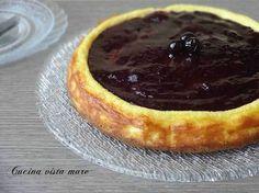 Cheesecake ai frutti di bosco Cucina vista mare