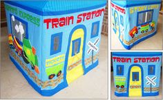 card table playhouse pattern, train card table playhouse pattern