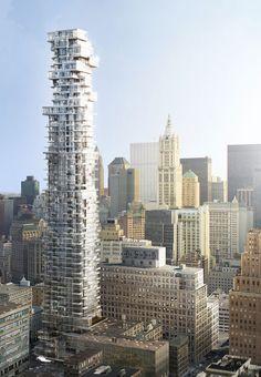 Herzog & de Meuron's 56 Leonard's NYC