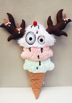 Ice Cream Monster by dkoss2, via Flickr