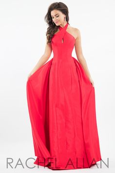 8baf02448dc Check out the deal on Rachel Allan 7617 Elegant Halter Gown at French  Novelty Prom Dress