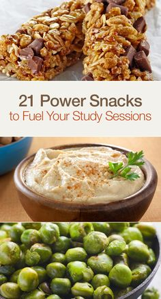 21 Power Snacks to Fuel Your Study Sessions