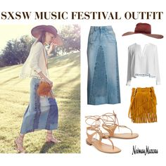 How To Wear SXSW Music Festival Outfit Idea 2017 - Fashion Trends Ready To Wear For Plus Size, Curvy Women Over 20, 30, 40, 50